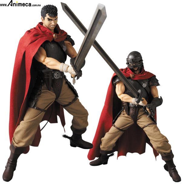 FIGURA GUTS Band of the Hawk Ver. REAL ACTION HEROES BERSERK