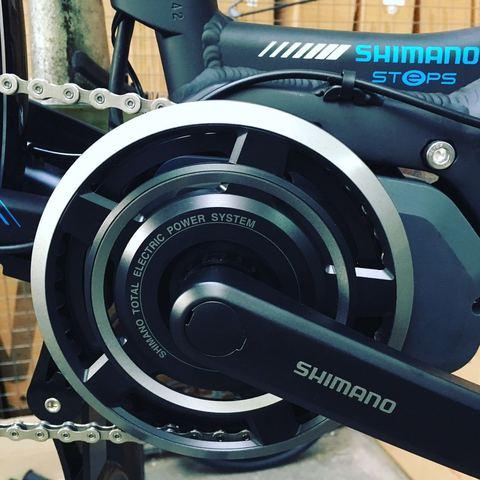 shimano bicicleta electrica vairo