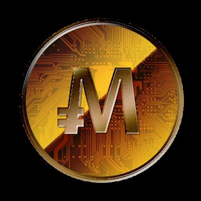 モナコイン 裏面のフリー素材(銅貨ver)