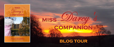 Blog Tour: Miss Darcy's Companion by Joana Starnes
