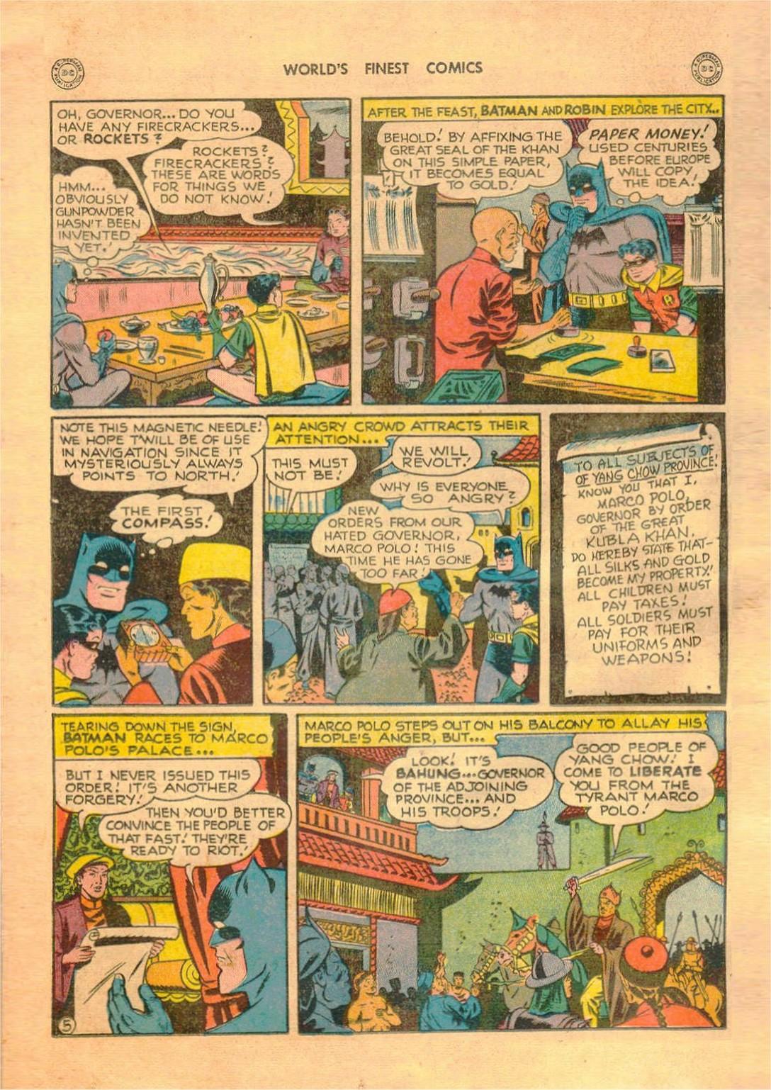 Read online World's Finest Comics comic -  Issue #42 - 66