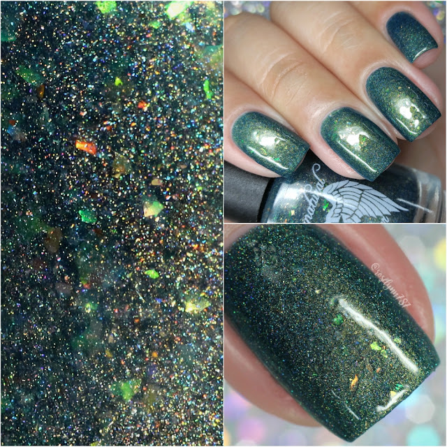 Supernatural Lacquer - Fabric of Space and Time | Swatches + Review