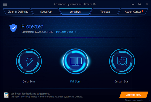Advanced SystemCare Ultimate Terbaru