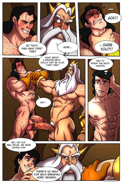 Gaston cartoon porno