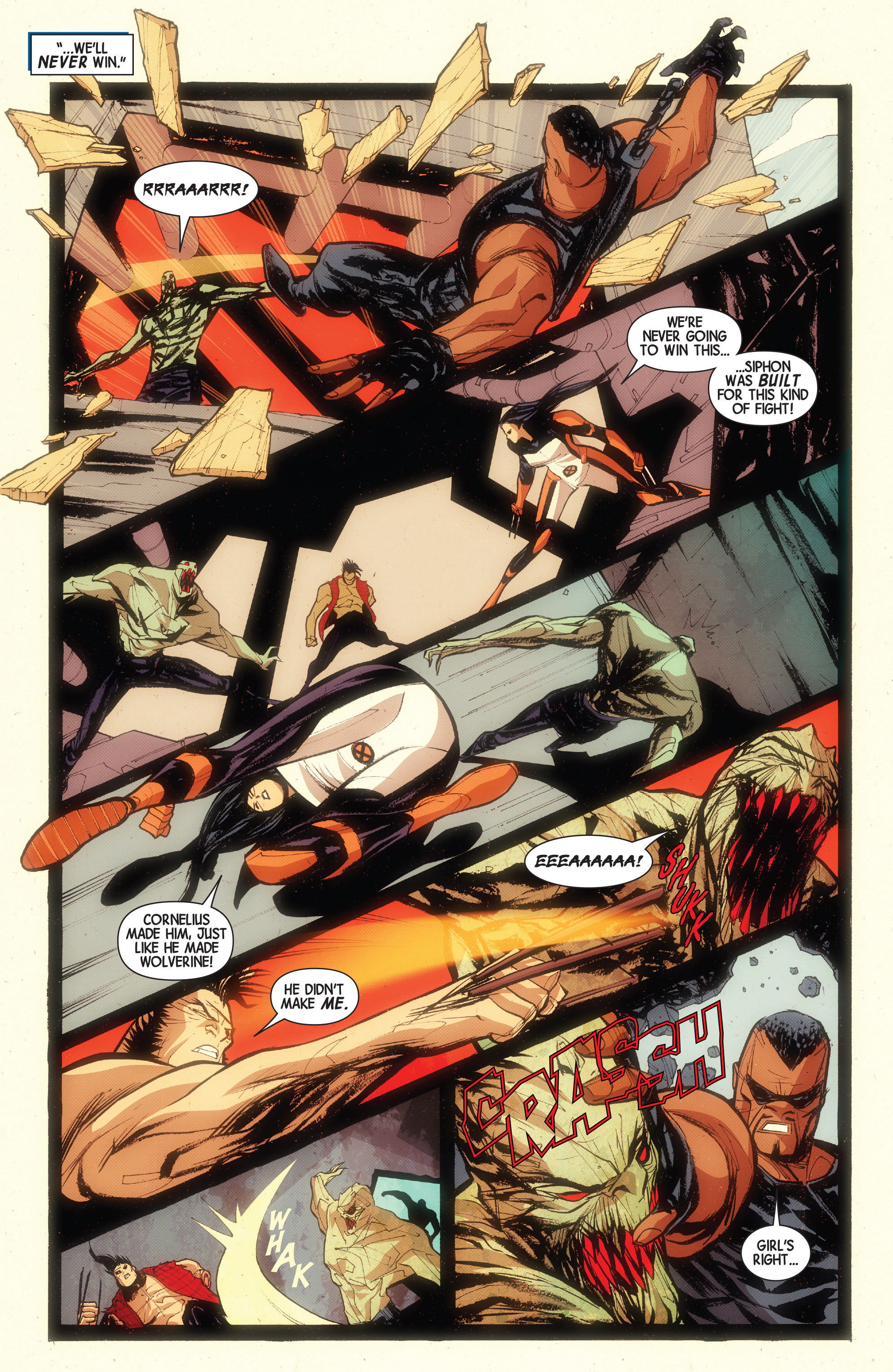 Read online Wolverines comic -  Issue #15 - 10