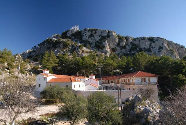 Αποτέλεσμα εικόνας για Ιερά Μονή Αγίου Δημητρίου Ζαλόγγου