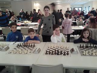 16ο Ομαδικό Πρωτάθλημα Σκάκι μαθητών-μαθητριών Θεσσαλονίκης-Χαλκιδικής