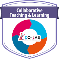 Collaborative Teaching and Learning course badge