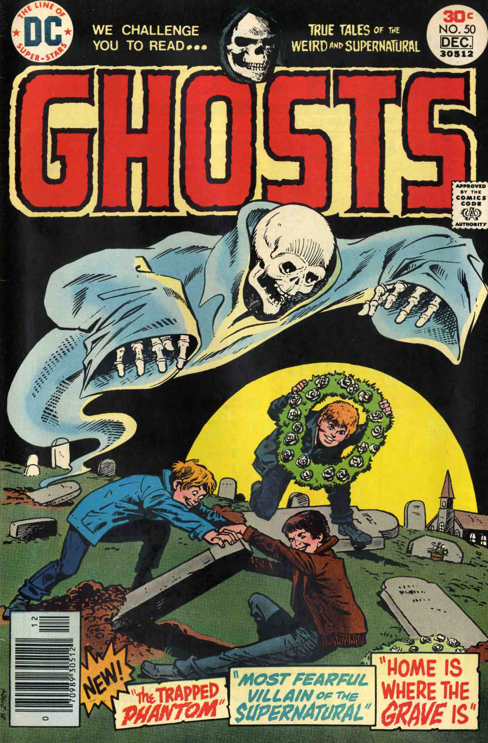 Read online Ghosts comic -  Issue #50 - 1
