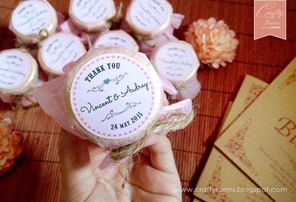 Malaysia Malay Wedding Door Gifts: Crafty Farms Handmade : Sweet