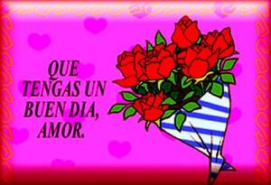 buen día Amor