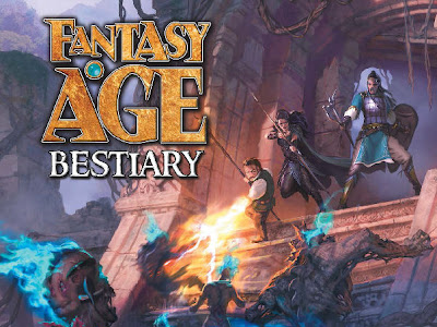 Reseña - Fantasty AGE Bestiary (GreenRonin)