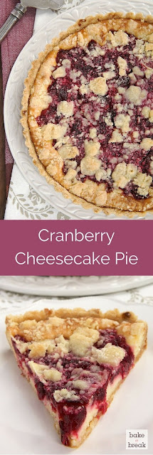 CRANBERRY CHEESECAKE PIE
