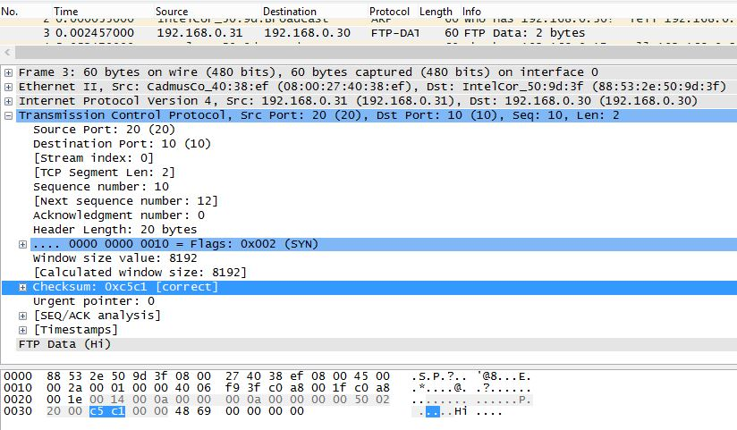 Learning by practicing: Calculating the TCP Checksum, with a taste