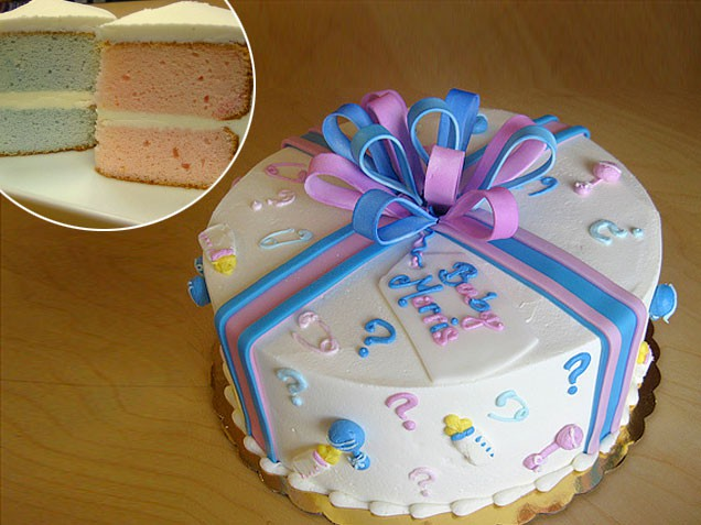 gender reveal cake ideas cake walk baby gender reveal 4467