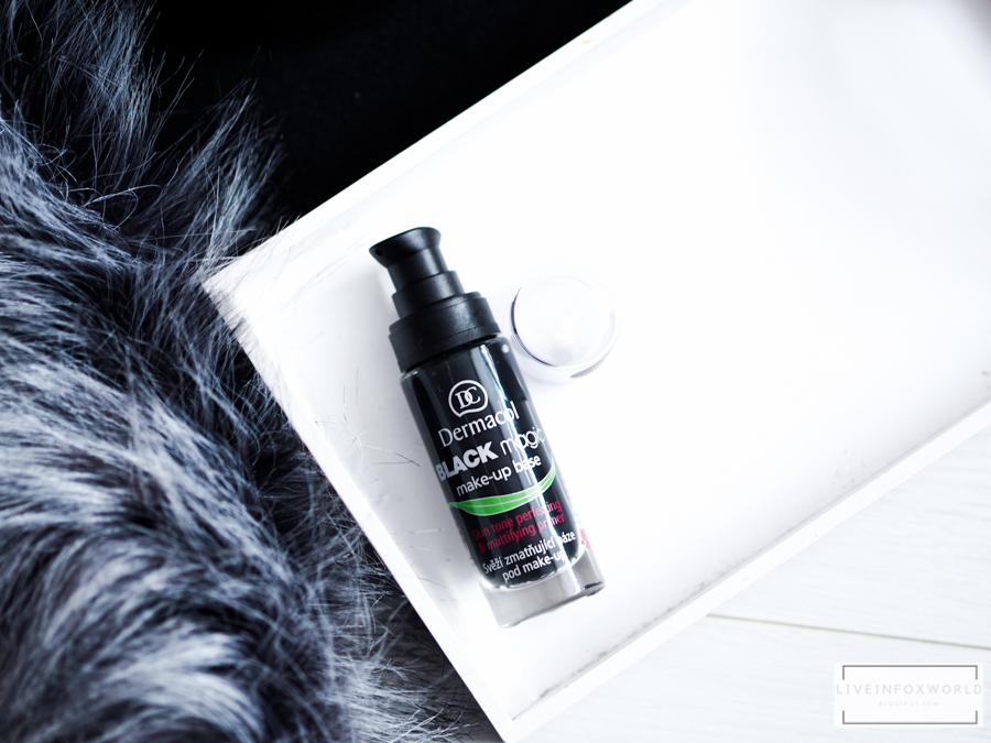 Dermacol Black magic báza pod make-up zmatňujúca báza s aktívnym uhlím