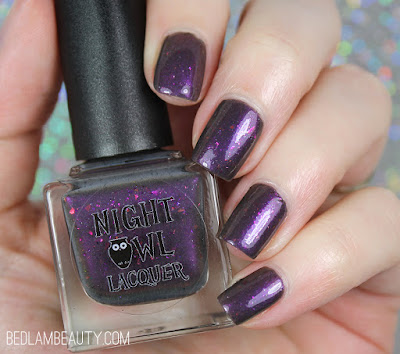 Night Owl Lacquer I Will Be Myself | Polish Pickup March 2018 | Books!