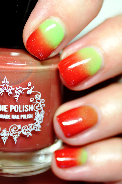 My Indie Polish The Grinch Christmas Thermal Nail Polish