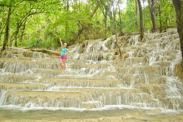 kaparkan falls in abra