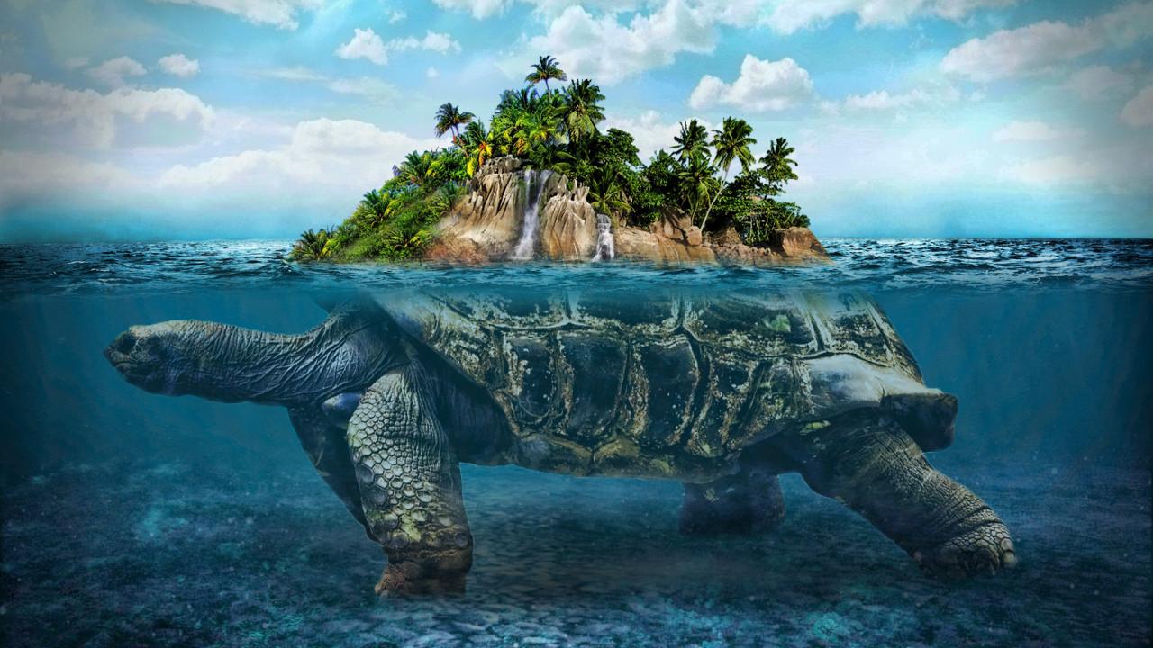 Misteri Bumi Diatas Kura-Kura Raksasa, Mitologi Dunia