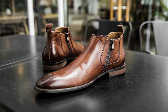 Chaussures mode hommes bottines hiver 2019 pas cher