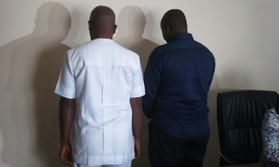 Fake Whistle Blowers Arrested For Giving False Tip About A Rich Man In Abuja (Photo)
