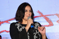 Cute Poja Gandhi in black dress at Dandupalyam 2 Movie press meet  ~  Exclusive 20.JPG