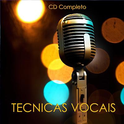 CD TÉCNICAS VOCAIS PARA ENSAIOS