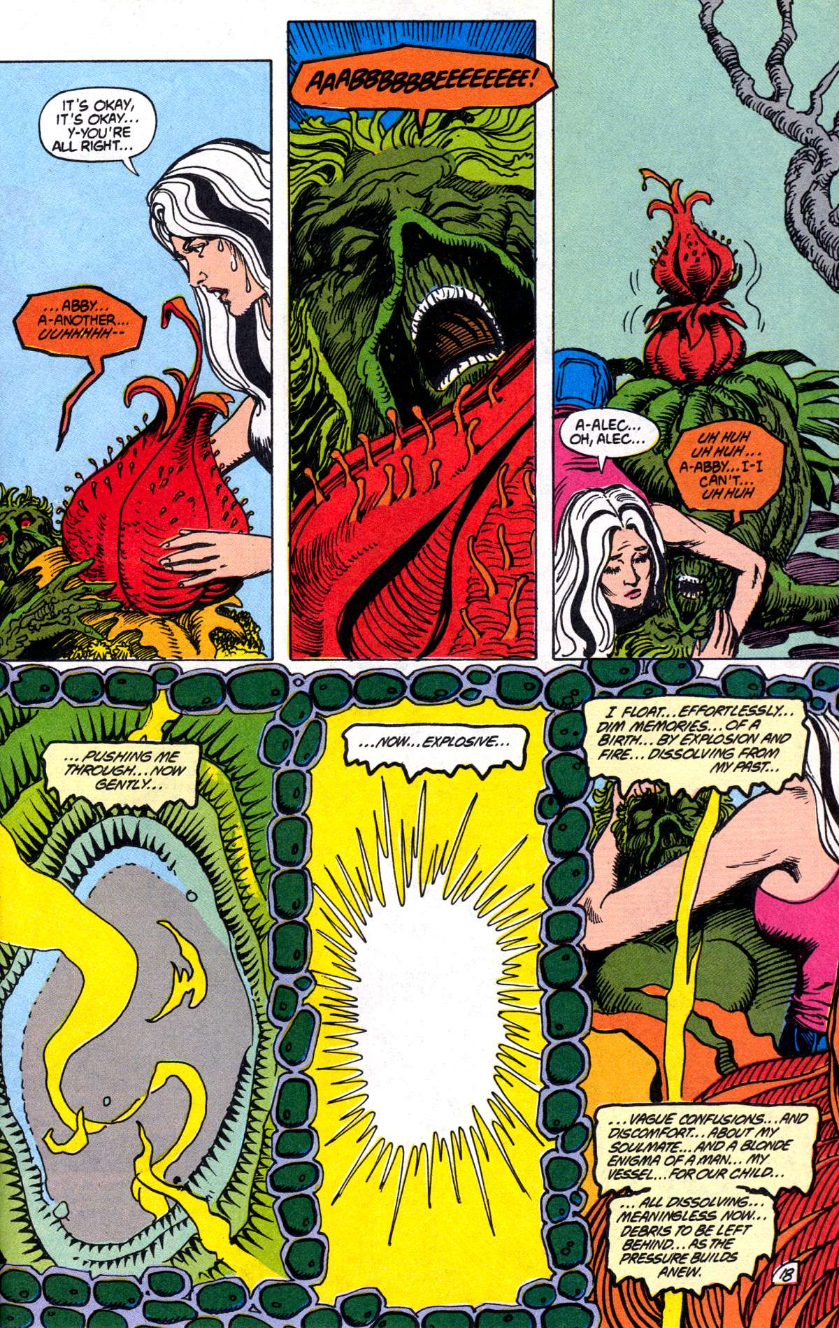 Swamp Thing (1982) Issue #78 #86 - English 19