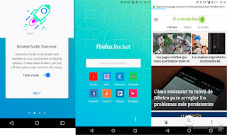 Descargar APK Firefox Rocket Fast and Lightweight Web Browser 2.0.0