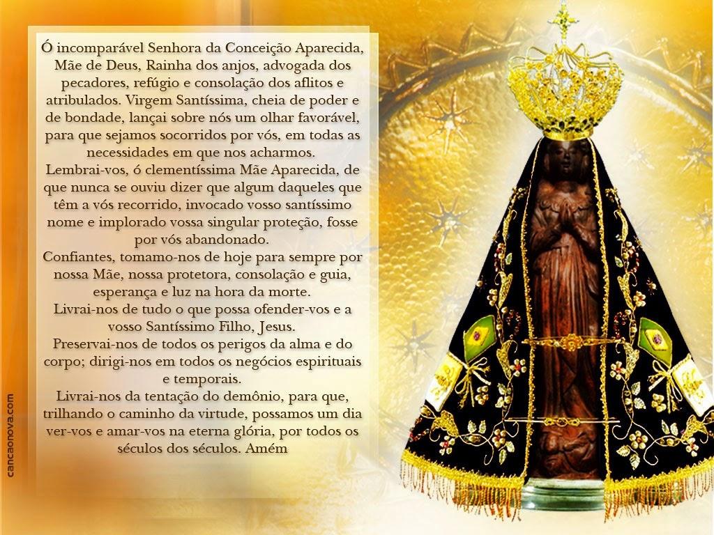 Nossa Senhora Aparecida Mãe Da Família Brasileira