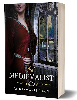 https://www.amazon.com/Medievalist-Anne-Marie-Lacy-ebook/dp/B075JDTQFZ/ref=sr_1_1?s=digital-text&ie=UTF8&qid=1511190053&sr=1-1&keywords=the+medievalist