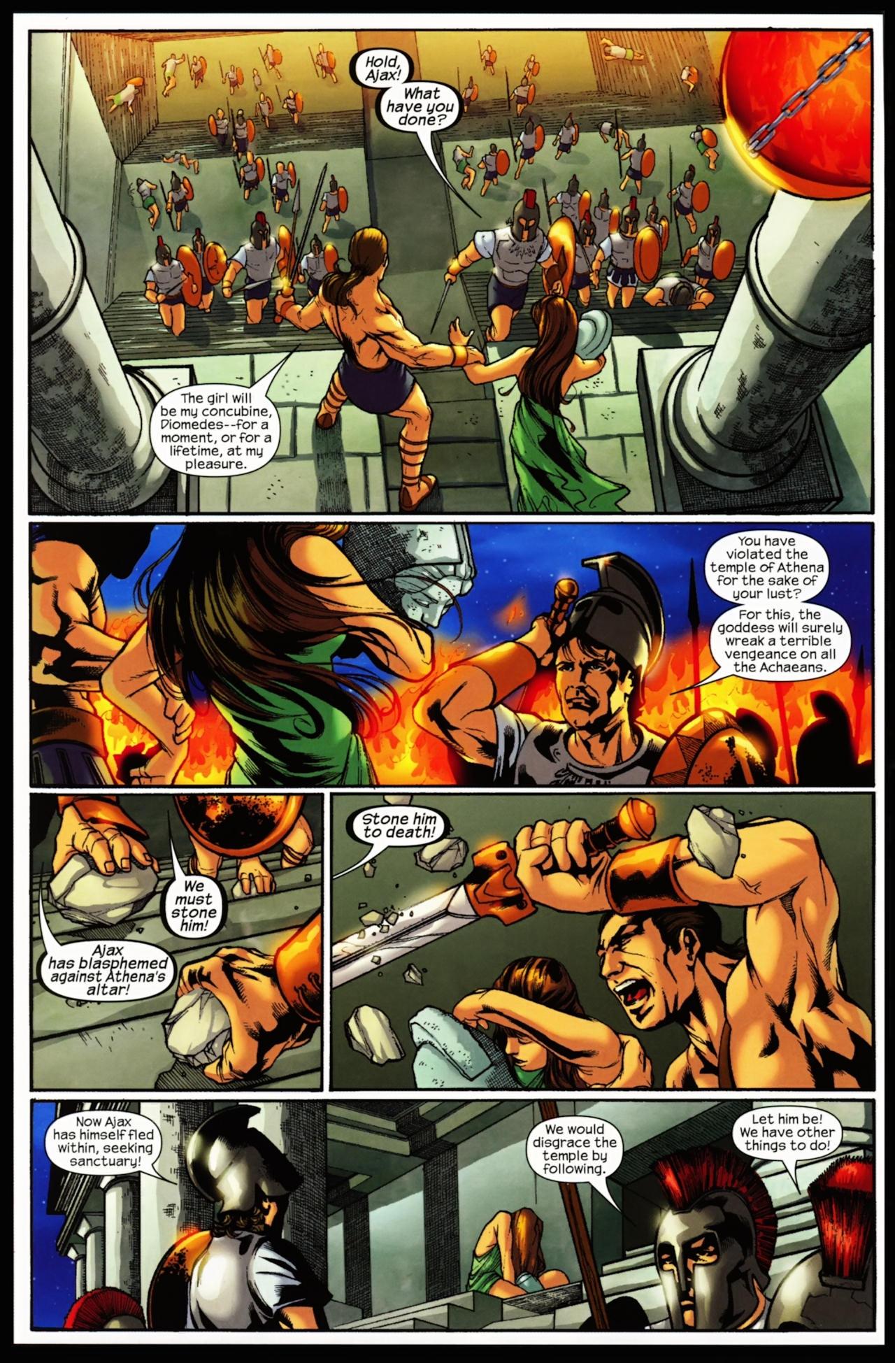 Read online Trojan War comic -  Issue #5 - 16