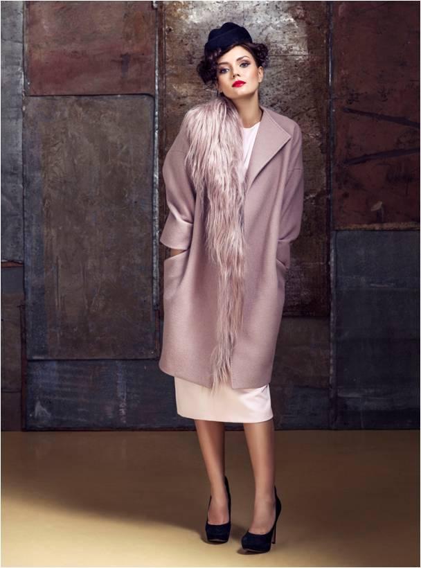 розовое платье IMAGO розовое пальто Makoday