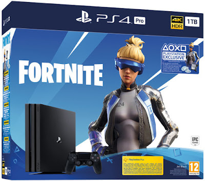 PS4 Pro 1 TB + Fortnite