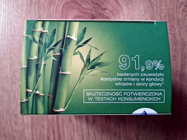 Vitapil, biotyna + bambus - mocne, lśniące włosy, góra opakowania