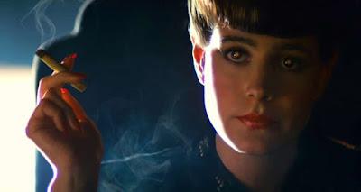 Sean Young as Rachel in Blade Runner film
