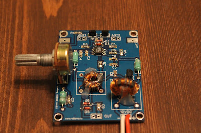 Active HF Antenna AMPLIFIER project