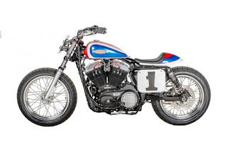 sportster mert lawwill replica flat track by shaw hd side left