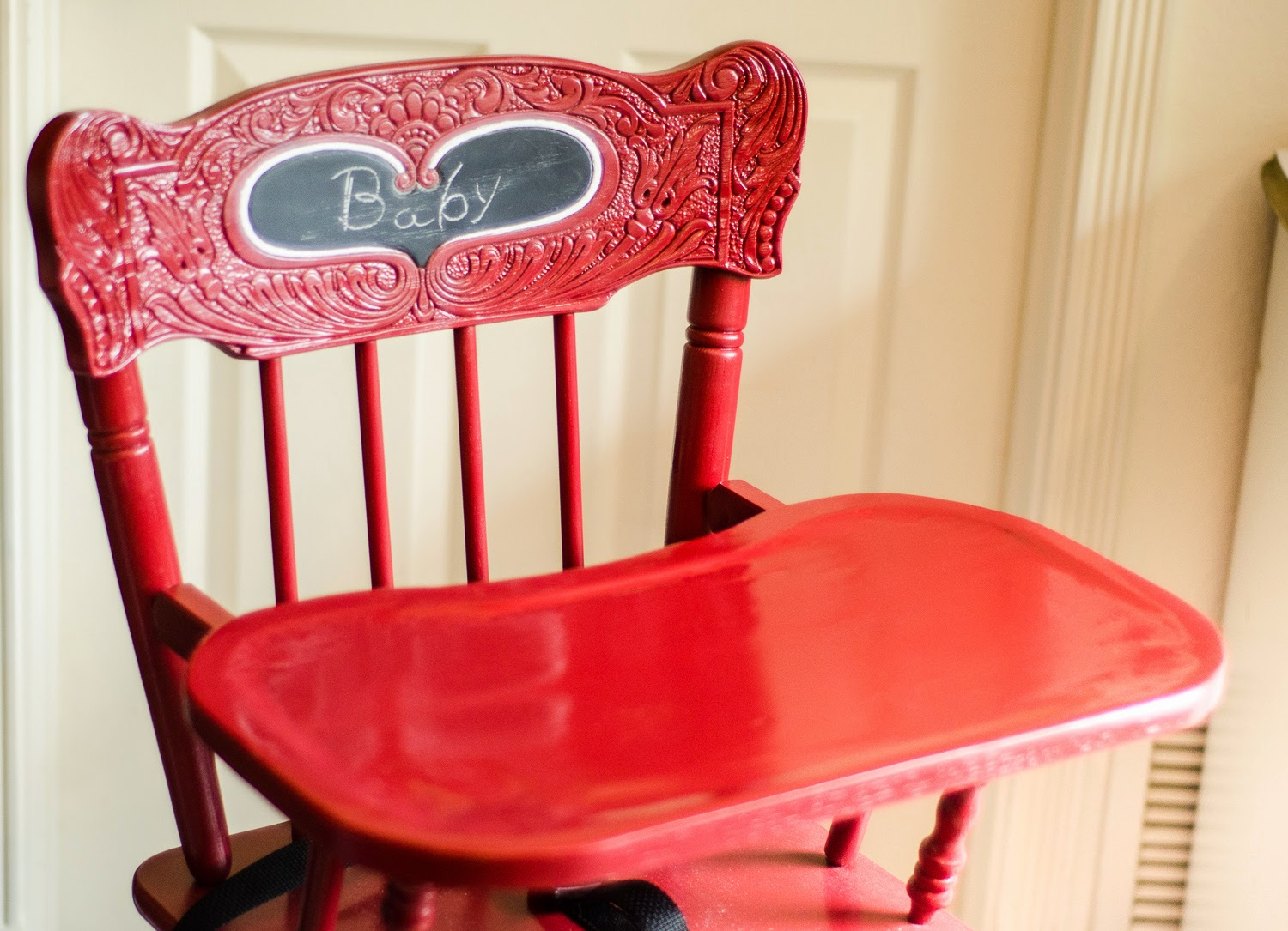 high chair upside down little tikes chunky table and chairs the adventures of mrs mayfield refinishing a vintage