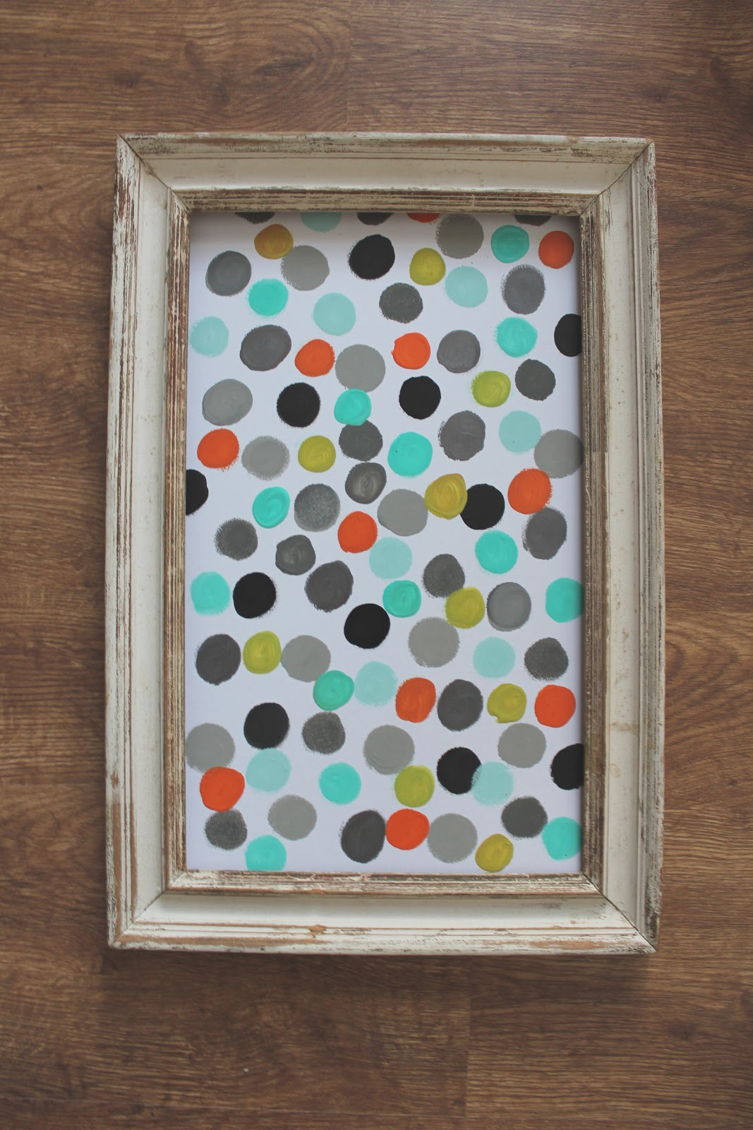 Love, Jessica Anne: DIY: Polka dot wall art