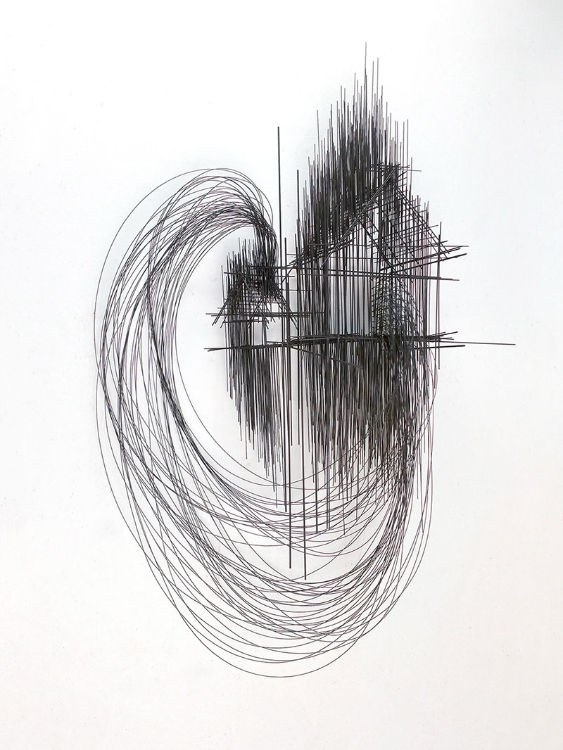 Drawings in Space: Sculptures by David Moreno