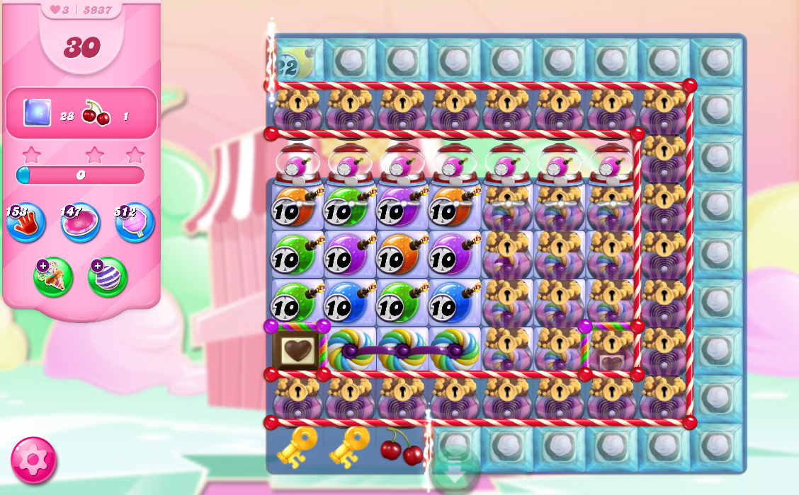 Candy Crush Saga level 5937