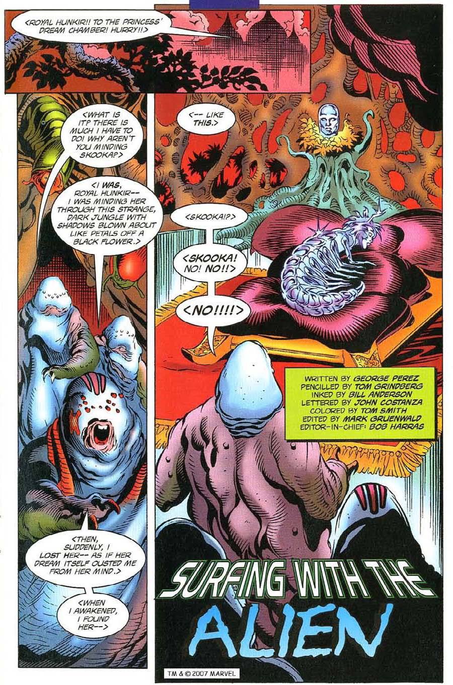 Read online Silver Surfer (1987) comic -  Issue #116 - 5