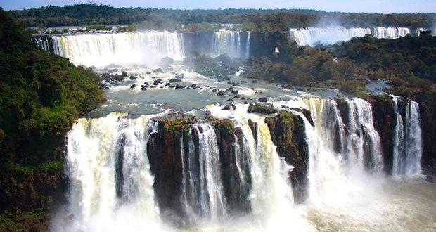 Iguazu Falls, Argentina, Brazil