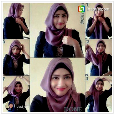 Style Hijab Anak Muda Simple Casual