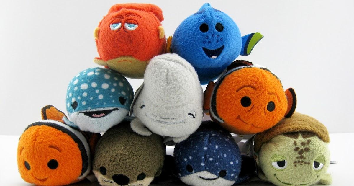 Dan the Pixar Fan Finding Dory Tsum Tsum Mini Plush