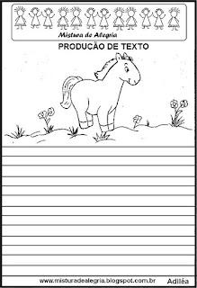 Produção de texto o cavalinho branco
