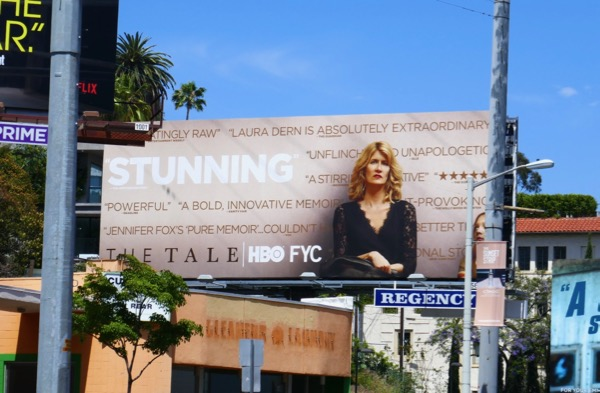 The Tale Stunning 2018 Emmy FYC billboard