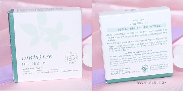 Review Innisfree No Sebum Mineral Pact